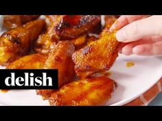 Best Honey BBQ Wings - How to Make Honey BBQ Wings