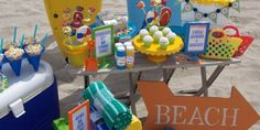 toddler beach bash ideas