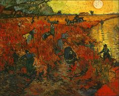 Red Vineyards by van Gogh