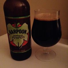 Harpoon's Imperial Pumpkin is 10.5 ABV and pours almost jet black with a pumpkin nose.  The flavor is mostly strong pumpkin and finishes sweet and dry.  Throughout the palate are hints of dark fruit along with some cocoa and spice, namely nutmeg.  This is a big and heavy stout and while that 10.5 abv doesn't hit you over the head it's not terribly well hidden either.  I'll give it a solid B, if I wanted something this big I wouldn't go with a pumpkin beer.