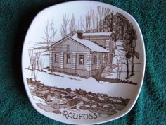 Vintage Collectable Wall Plate RAUFOSS FIGGJO Norway advertisement #22