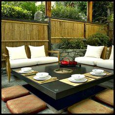 nice decor Diningroom Design With Japanese Restaurant Style by Troy Adams