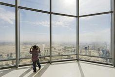 Dubai's Burj World's highest observation deck Burj Khalifa, Dubai, Louvre, Landscape, World, Decks, Building, Travel, Image