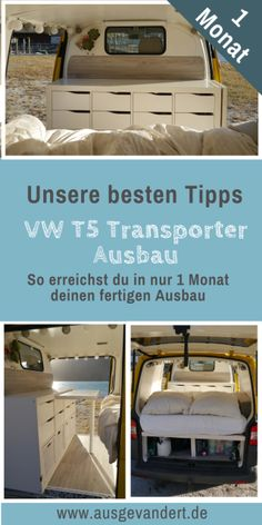 isolieren & Bodenplatte isolieren – VW Camper Ausbau Best Picture For vanlife ideas For Your Taste You are looking for something, and it is going to tell you exactly what you are looking … Vw Camper Bus, Mini Camper, Camper Life, Camper Trailers, T5 Bus, Auto Camping, Van Camping, Camping Hacks, Airstream Camping