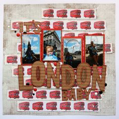 beads buttons & birds: London Baby!