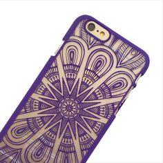Purple Starburst Phone Case