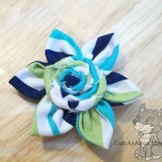 Today I am showing you how to make these cute fabric flowers. They combine a Kanzashi style flower with the rolled rosettes that are so popular right now. (Disclaimer: I don't know a ton about kanzashi except that I am in love with all the flowers I see. I will be trying out different...