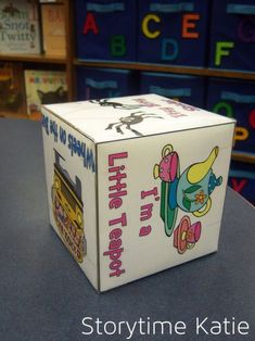 Song Cube for storytime - see how Karen feels about this...