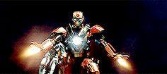 Tony Stark || Iron Man 3 || 245px x 110px || #animaed