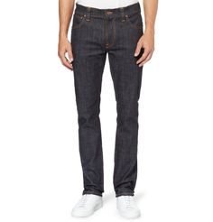 Nudie JeansThin Finn Slim-Fit Organic Dry Denim Jeans MR PORTER