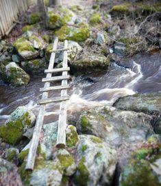 Cross over the river @kuulas_valo on Instagram