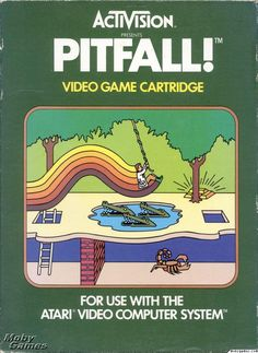 pitfall.jpg (640×877) Atari game - Pitfall