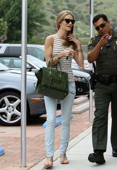 Rosie Huntington-Whiteley - Rosie Huntington-Whiteley Leaves a Malibu Mall