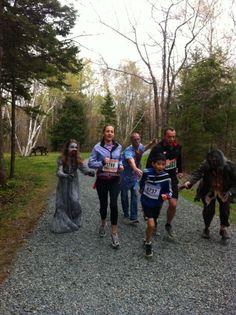 5 km Zombie Trail Run,  Sept 28th, 2013,  Waverley,  Nova Scotia