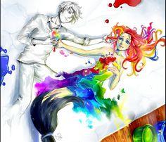 Paint the Love by sonamy-25.deviantart.com on @deviantART