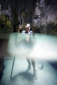 Octopus Cave - El Nido, Palawan, Philippines | Photo by Scott Sporleder/Tao Philippines via Flickr