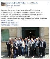 Hinterland Nord Milano CCPP MoVimento 5 Stelle EFDD: Majors and Action 5stelle on Maj 2017