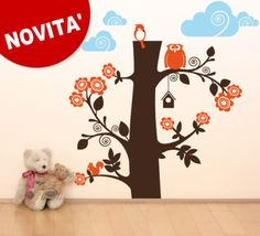 Wall Stickers sticker  Cameretta bimbo bosco 144x150 cm
