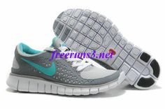 41InHk Womens Nike Free Run Gray Navy Shoes