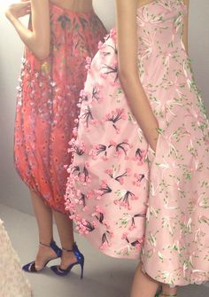 Pretty patels at Dior Couture Backstage