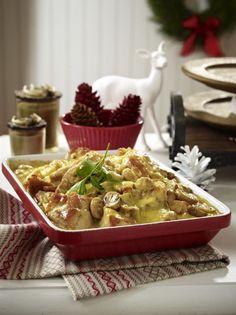 Unser beliebtes Rezept für Hähnchen-Champignon-Auflauf und mehr als 55.000 weitere kostenlose Rezepte auf LECKER.de.