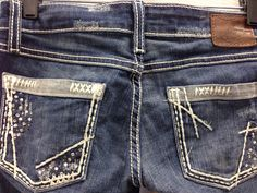 Jeans with bling! Size 26