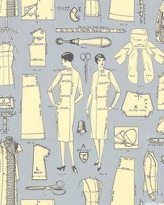 Vintage Made Modern - Patterning - Ash Gray