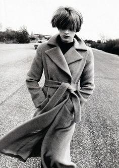 Kristen McMenamy by Peter Lindbergh