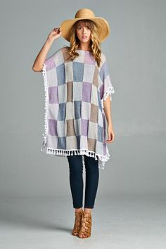 Gemma Tunic in Pastel | Women's Clothes, Casual Dresses, Fashion Earrings & Accessories | Emma Stine Limited   #streetstyle