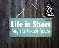 beach decor beach house sign hawaiian decor by SurfShackSigns