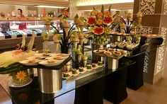#itsRIUtimeinMEXICO fruit art buffet at Riu Playacar - All Inclusive.