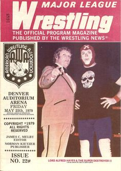 Major League Wrestling May 1979