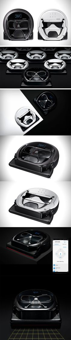 Samsung just released a Star Wars-themed autonomous vacuum. We've seen some insane Star Wars mash-ups over the past year. These nifty little vacuums come in a choice of either a Stormtrooper or Darth Vader façade. I think you'll be opting for the Darth Vader version though – with built-in Bluetooth connectivity and an onboard speaker system, it seems like a clear winner here. PRE ORDER NOW!