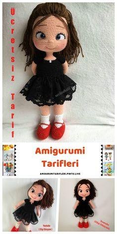 Amigurumi Nisa Baby Making - Amigurumi Free English Recipes - Amigurumi Free, Amigurumi Tutorial, Amigurumi Patterns, Amigurumi Doll, Knitting Patterns, Crochet Patterns, Crochet Dolls, Knit Crochet, Crochet Hats