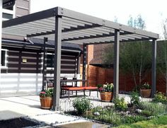 Would you like to have a beautiful pergola built in your backyard? You may have a lot of extra space available for something like this, but you'll need to focus on checking out different pergola plans before you have anything installed. Diy Pergola, Building A Pergola, Pergola Canopy, Metal Pergola, Outdoor Pergola, Wooden Pergola, Pergola Shade, Backyard Patio, Pergola Ideas