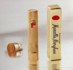 """Princess Marcella Borghese Lipstick, 1960s - from the book """"Lips of Luxury"""" by Jean-Marie Martin-Hattemberg"""