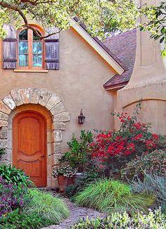 gorgeous straw-bale house