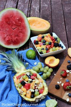 Honey Lime Fruit Sal