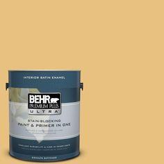 BEHR Premium Plus Ultra 1-Gal. #PPU6-14 Charismatic Satin Enamel Interior Paint