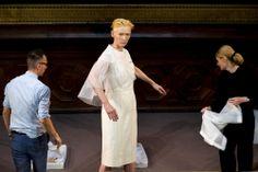"Olivier Saillard talks "" Eternity Dress "" and re-collaborating with Tilda Swinton"