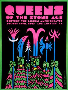 Queens of the Stone Age Art Print