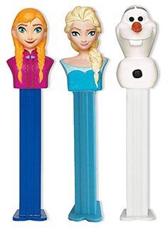 Disney's Frozen 3 Pack PEZ Dispensers - Elsa, Anna, Olaf Pez Candy http://www.amazon.com/dp/B00Q0NJQ0Q/ref=cm_sw_r_pi_dp_YYcWub13VRTQ8