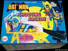 BAT - BLOG : BATMAN TOYS and COLLECTIBLES: Vintage Batman Toys and Memorabilia From The 1970's