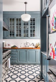Seven Ways to Save on Your Kitchen Renovation Before you empty your bank accounts overhauling your outdated kitchen, consider giving it a face-lift with these tips from designers.