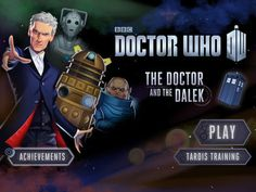 The Doctor and the Dalek is a Doctor Who game that teaches players coding logic.