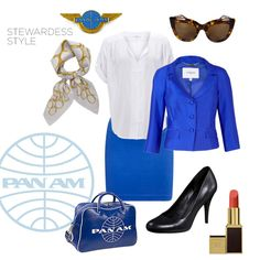 Pan Am Halloween Costume Idea halloween costumes Halloween 2014, Halloween Party Costumes, Costume Ideas, Halloween Ideas, Character Outfits, Festival Outfits, Cute Fashion, Playing Dress Up, Fancy Dress