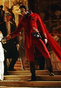 I really wish the productions would use this costume for the Red Death on Broadway...