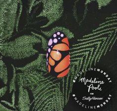 #MadelineMonday Exotic Flutters | Sally Hansen