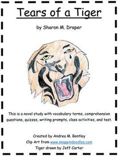 a review summary of tears of a tiger Tears of a tiger by sharon draper anthony avila eng 3 honors period 3 the novel tears of a tiger is about a high school student named andy jackson going through a life of pain and guilt the story begins with a newspaper article on an accident that killed a basketball player named robbie washington.