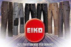 Eiko Zunfthosen könnt ihr ganz bequem bei baucore.com kaufen. Zunfthosen (oder auch Zimmermannshosen oder Dachdeckerhosen genannt) sind traditionelle, robuste und funktionale Hosen, die starken Belastungen standhalten müssen. Wir bieten Ihnen bei uns im Shop zünftige Arbeitskleidung des deutschen Herstellers EIKO an. Zunfthosen werden bei uns mit Schlag oder ohne Schlag angeboten. http://www.baucore.com/zunftkleidung/zunfthosen/